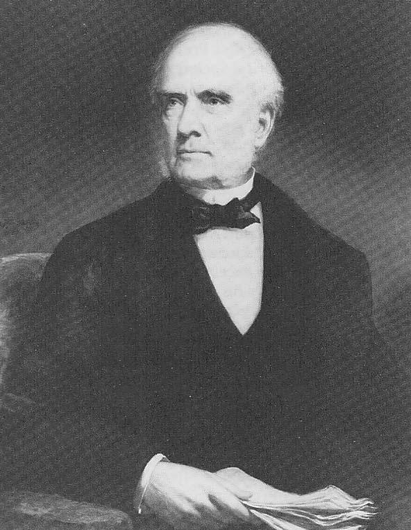 New England Society's first president, Benjamin Sillliman