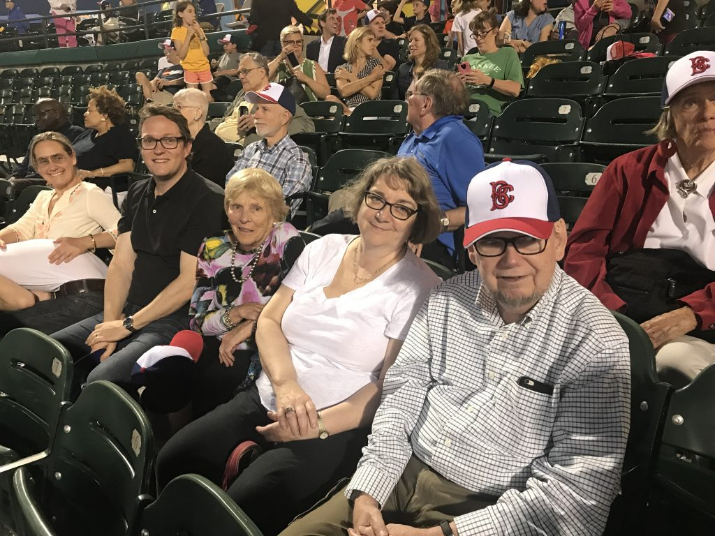 NES Members at Ballpark - 3