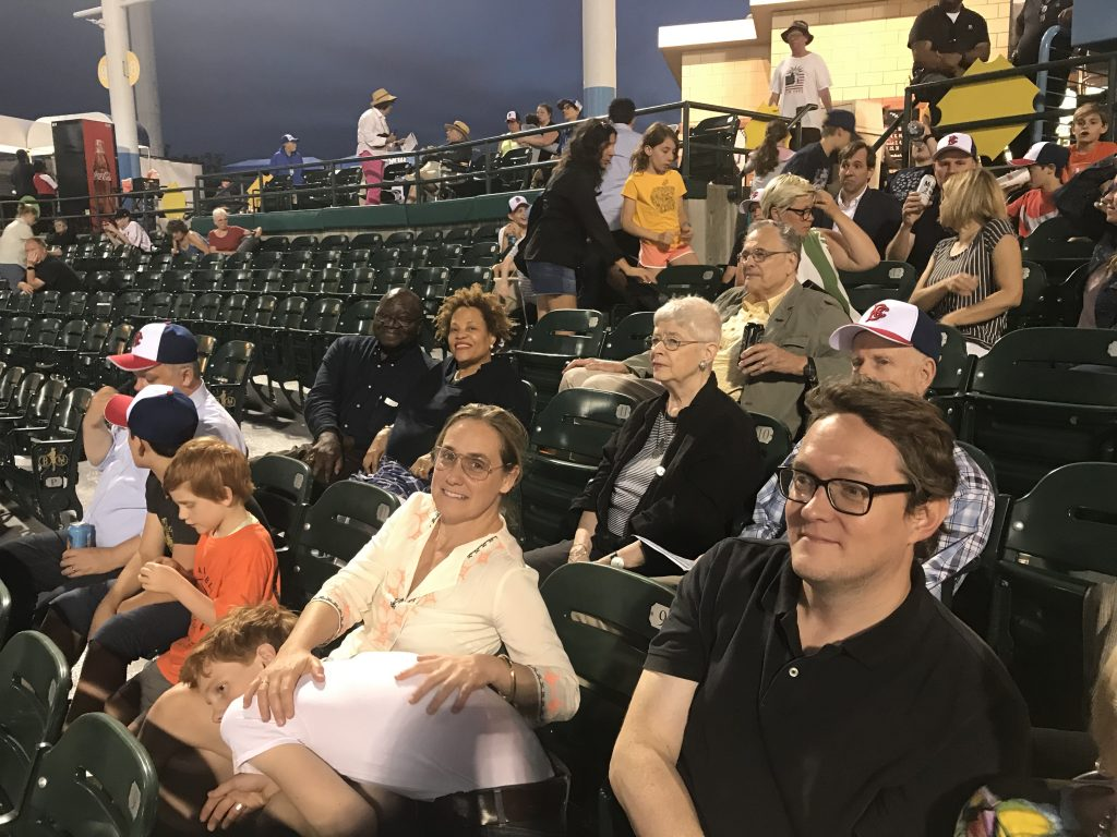 NES Members at Ballpark - 5