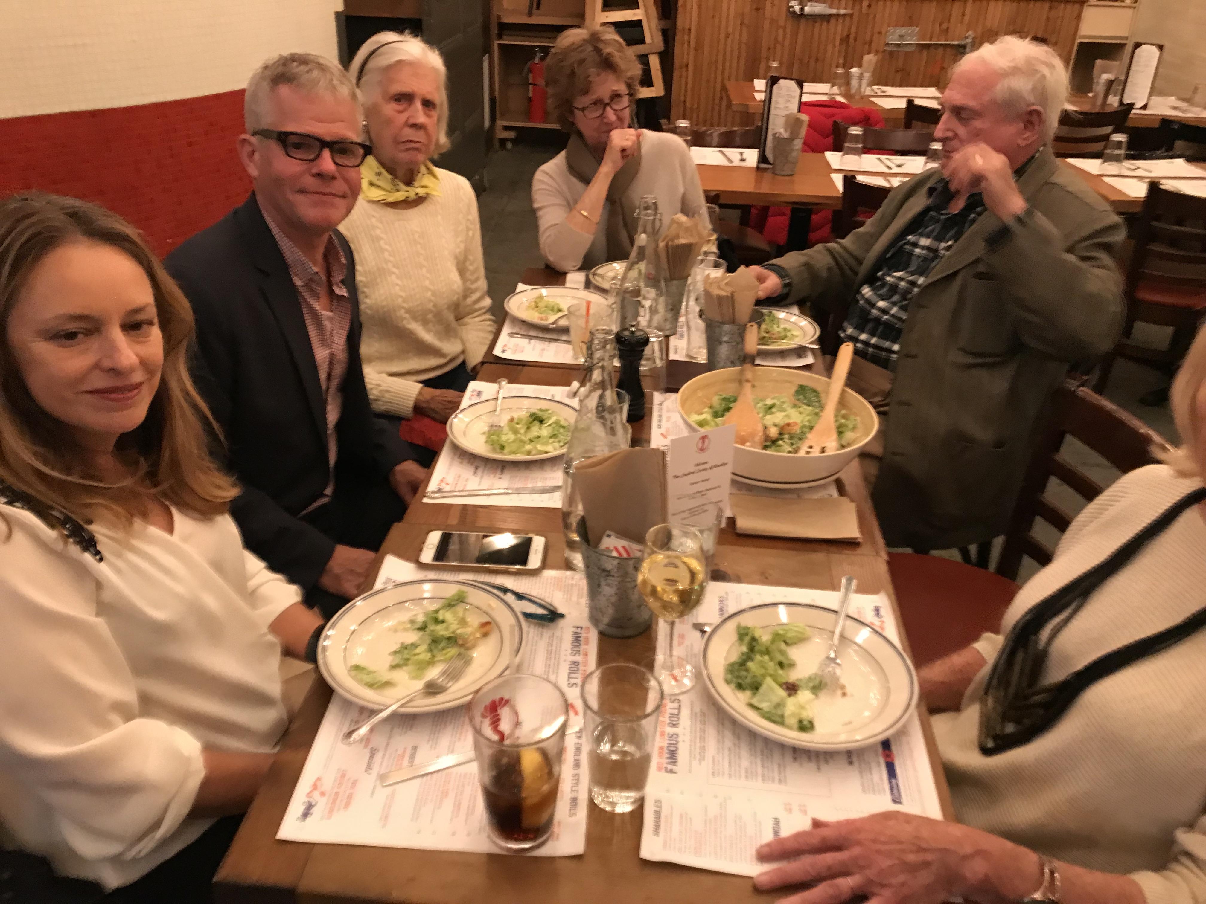Clambake Dinner, October 2018