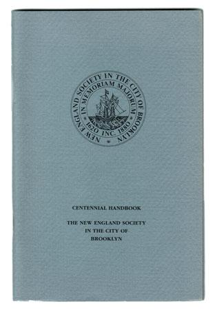 New England Society Centennial Handbook